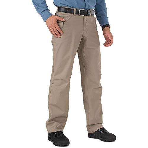 5.11 Tactical Men's Ridgeline Covert Work Pants, Teflon Finish, Poly-Cotton Ripstop Fabric, Style - Pants 5.11 Tactical Nylon