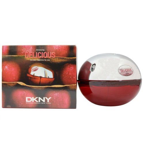 Dkny BE DELICIOUS RED 1.7 oz EDT Men New in Box