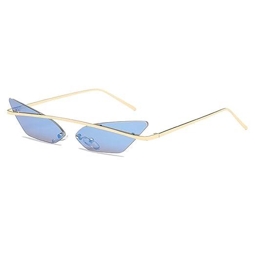 Yangjing-hl Gafas de Sol de Ojo de Gato Mujeres Cool Brand ...