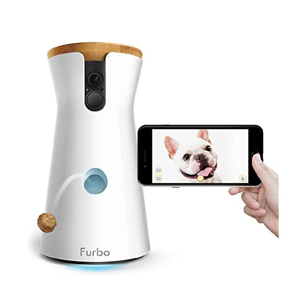 Furbo Dog Camera: Treat Tossing, Full HD Wifi Pet Camera and 2-Way Audio, Designed for Dogs, Compatible with Alexa (As Seen On Ellen) 1