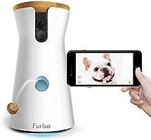 Furbo Dog Camera: See, Talk and Toss Treats (Alexa-Enabled)