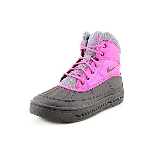 Nike Woodside 2 High  Youth Girls Size 5.5 Black Leather Sno