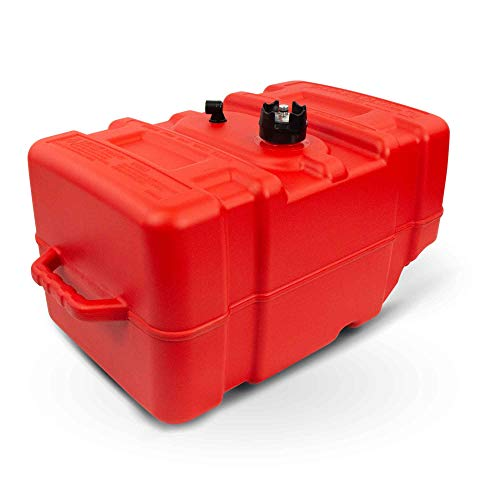 Below Deck Fuel Tank - Five Oceans 12 Gallon Portable Fuel Tank Low-Permeation w/Gauge FO-4269