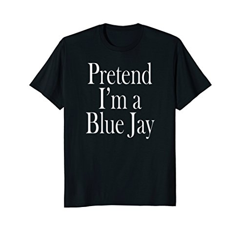 Blue Jay Costume Shirt for the Last Minute Party -