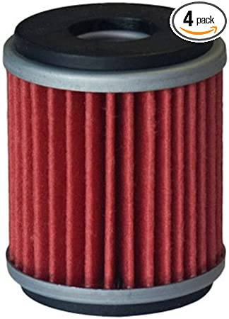 2 Pack Hiflofiltro HF140-2 2 Pack Premium Oil Filter