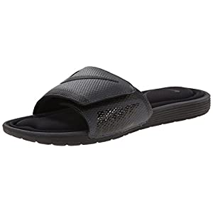 NIKE Men's Solarsoft Comfort Slide Sandal, Black/Anthracite, 10 D(M) US