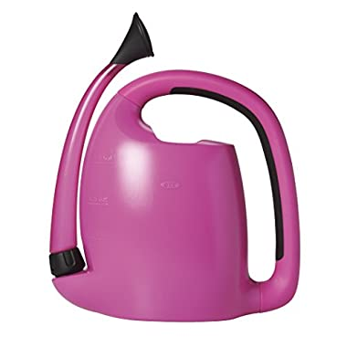 OXO Good Grips Outdoor Pour & Store Watering Can, Fuchsia