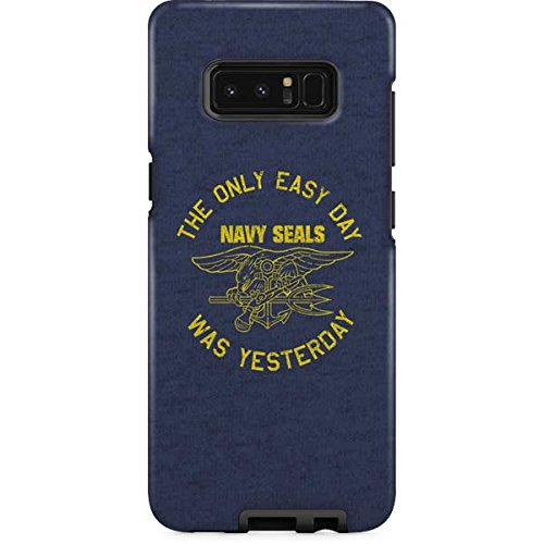 Special Ops Galaxy Note 8 Case - Navy SEALs: The Only Easy Day Was Yesterday   Military X Skinit Pro Case