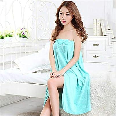 Adult Women Girls Bra Bath Towel Increase can wear Summer Wrapped Absorbent Than Cotton Bathrobe Sexy Beauty Salon