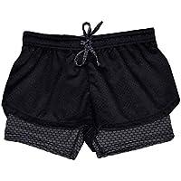 Caliente venta. La mujer Yoga pantalones cortos, canserin 2017Nuevos deportes gimnasio Cintura Skinny pantalones cortos pantalones de yoga