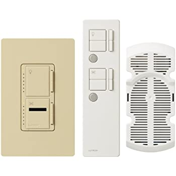 Lutron Maestro Ir Fan Control And Light Dimmer For