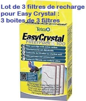 Tetra: 3 pieza filtro de Refill sistema Easy Crystal: Amazon.es: Productos para mascotas