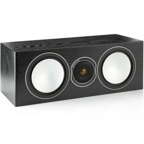 Monitor Audio - Silver Series - Center - 2 1/2 Way Speaker - Black Oak by Monitor Audio