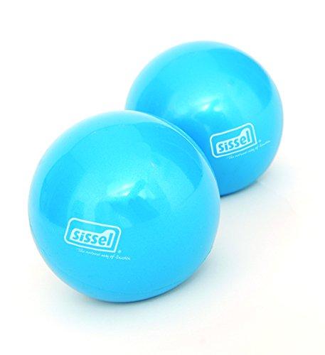 SISSEL Pilates-Small Props Toning Ball Set, blau, 450g