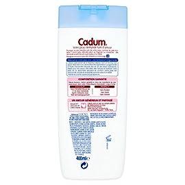 Cadum Crème Douche Hydratation Longue Durée à l'Huile d'Amandes Douces Bio 400 ml