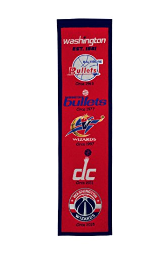 Nba Washington Wizards Heritage Banner