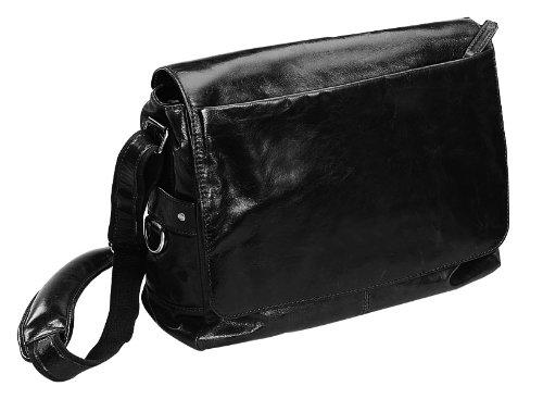 Leather Messenger Bag -Bellino (Bellino Leather Messenger Bag)