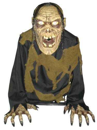 Fog Accessory Corpse Bilious Zombie Animated Scary Haunted Holiday Prop