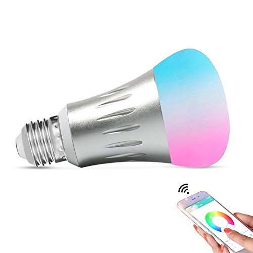 Expower Smart WiFi Light,Smart Bulb Dimmable 6.5W...