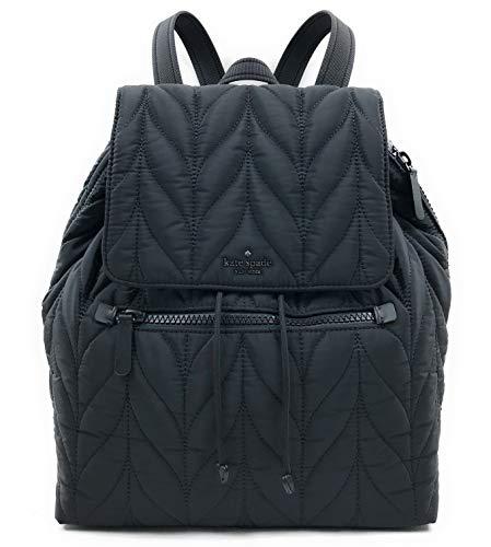 Kate Spade New York Ellie Large Flap Backpack Black (Kate Spade Baby Backpack)
