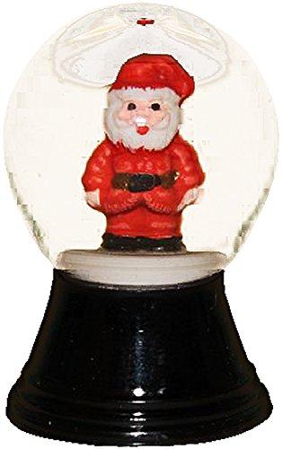1 Santa (Alexander Taron Importer PR1150 Perzy Decorative Snowglobe with Mini Santa, 1.5