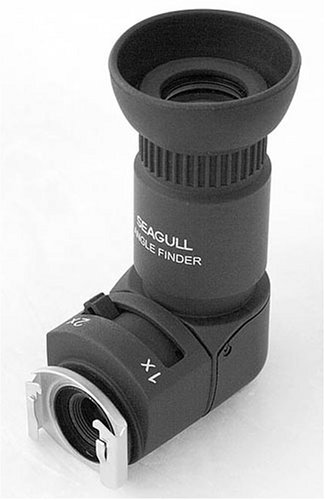(Seagull 1x-2x Right Angle Finder for Canon, Nikon, Pentax, Minolta, Fuji, Olympus and Leica SLR Cameras)
