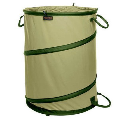 30 Gallon Folding Gardening Bag. Pop up container for grass, weeds, yard waste, toys, laundry by PnB Deals