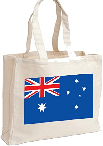 Cotton Australian Flag Flag Cotton bag Cotton shopping Cream shopping Australian Cream bag Australian Flag Xxq1pRUn