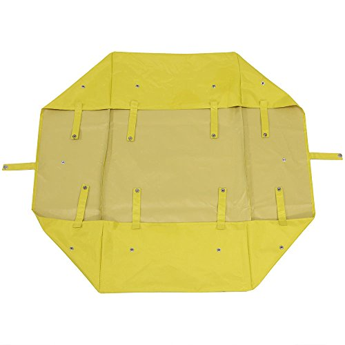 Sunnydaze Liner for Garden Utility Cart, Heavy-Duty Polyester, Yellow, Liner ONLY by Sunnydaze Decor