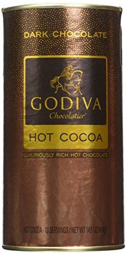 GODIVA Chocolatier Chocolate Cocoa Canister