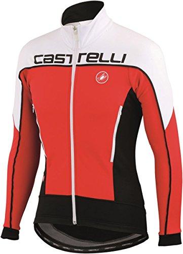 Castelli Mortirolo 3 Jacket (Anthracite/Black/Yellow Fluo, M) - Men's ()