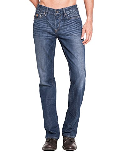 7bcf6182f38 GUESS Men's Falcon Classic Bootcut Jeans in Walker Wash, 32 Inseam, WALKER  WASH (32 / 32) - Buy Online in UAE. | Apparel Products in the UAE - See  Prices, ...