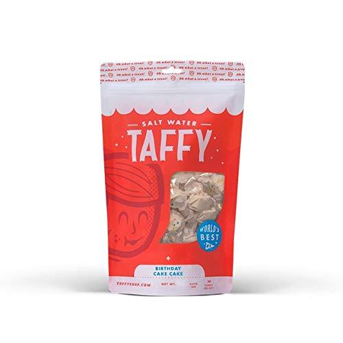Taffy Shop Birthday Cake Cake Salt Water Taffy - 1/2 LB Bag