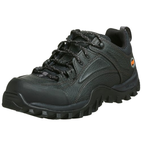 Timberland PRO Men's 40008 Mudsill Low Steel-Toe Lace-Up,Black,10.5 (Leather Steel Toe Sneakers)