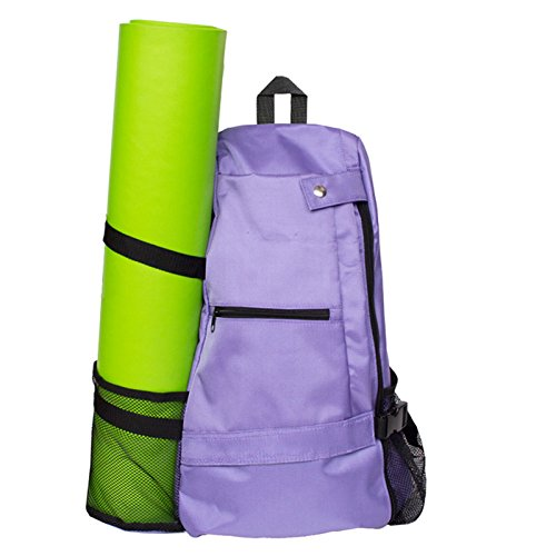 YUIOP Yoga Backpack, Yoga Multi Purpose Backpack Yoga Mat Backpack,Mat sold Separately for Gym, Hiking or Travel, Beach