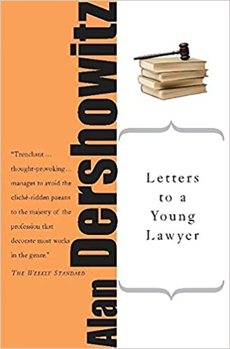 letters to a young lawyer art of mentoring paperback alan m