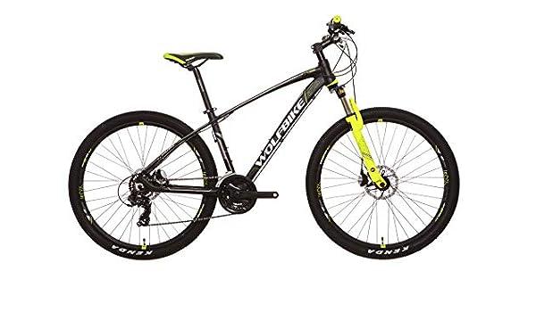 Wolfbike LINKTRO 9 27 TX300M Negro T16 Bicicleta, Adultos Unisex ...