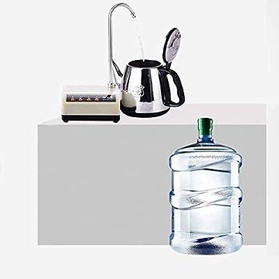 LYATW Botella de agua del dispensador de la bomba portátil inalámbrica automática de agua eléctrico dispensador de la bomba universal for la cocina casera jarro de agua Bomba Eléctrica Mini dispensado: Amazon.es