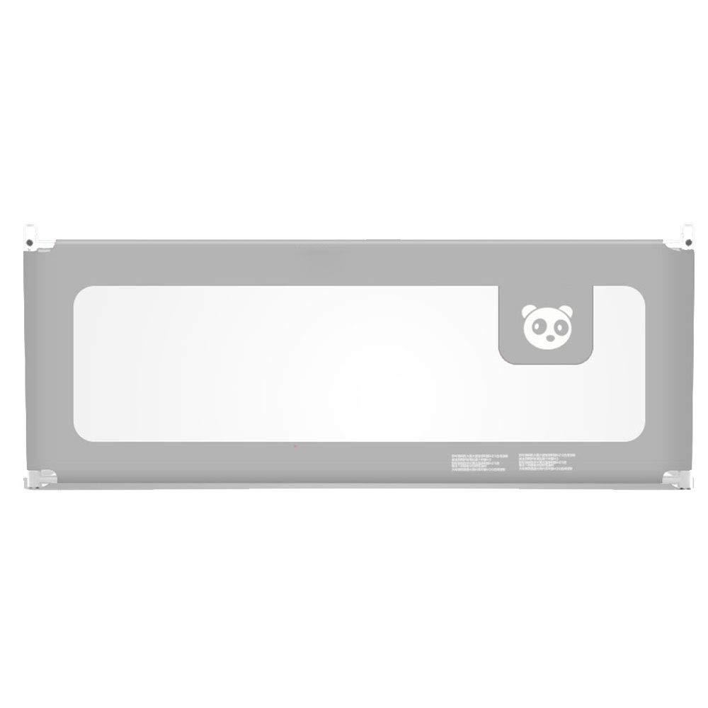 LHA ベッドガードフェンス 幼児子供のベッドサイドガードレールアンチフォールズベッドの手すり120cm、150cm、180cm、200cm (色 : Gray, サイズ さいず : L-150cm) L-150cm Gray B07HSWD9SX