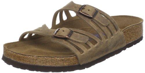 Birkenstock Suede Slides (Birkenstock Women's Granada Slide Sandal,Tobacco Oiled Leather , 40 M EU/9-9.5 B(M) US)