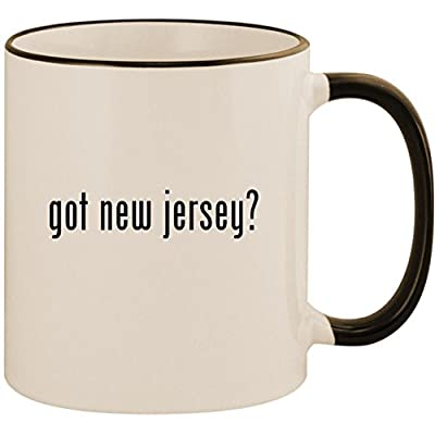 got new jersey? - 11oz Ceramic Colored Handle & Rim Coffee Mug Cup