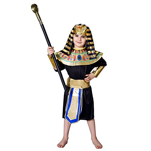 DSplay Kid's Egyptian Pharaoh Costume (7-9Y) -