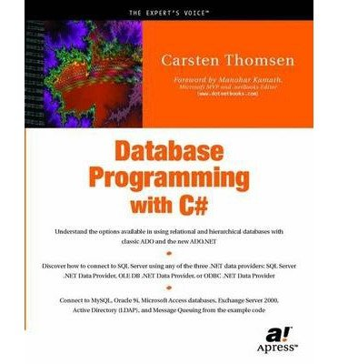 [(Database Programming with C# )] [Author: Carsten Thomsen] [May-2002]