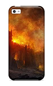 Iphone 5c Cover Case - Eco-friendly Packaging(castle Fantasy)