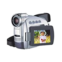"""Canon ZR60 MiniDV Digital Camcorder with 2.5"""" LCD, 18x Optical Zoom and Image Stabilization (Discontinued by Manufacturer)"""