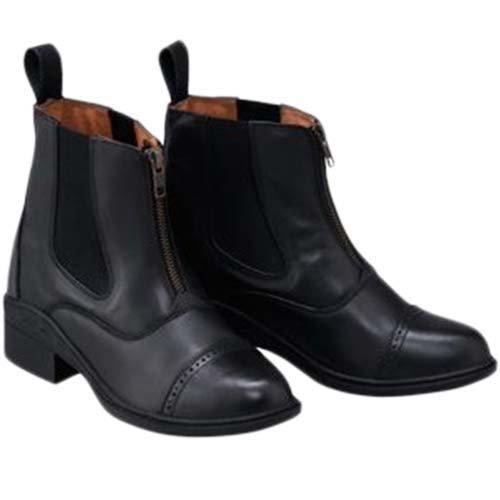 [AF] 乗馬用 レザーパドックブーツ ブラック 40018 37/23.5cm  B01N95K01M