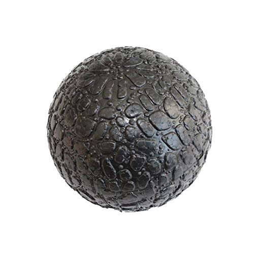 Price comparison product image 1 Piece 10cm High Density Massage Ball Lightweight Black Fitness Training Lacrosse Ball Body Yoga Sport Exercise Black Hard Big