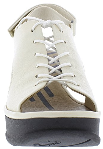 Leather White Sandali P500862004 Fly London Jart862fly qxZTwnZpF