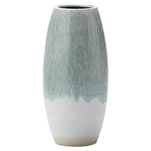 Shigaraki Pottery Japan Flower Vase Kado Ikebana,Mizuasagi Light Light Blue