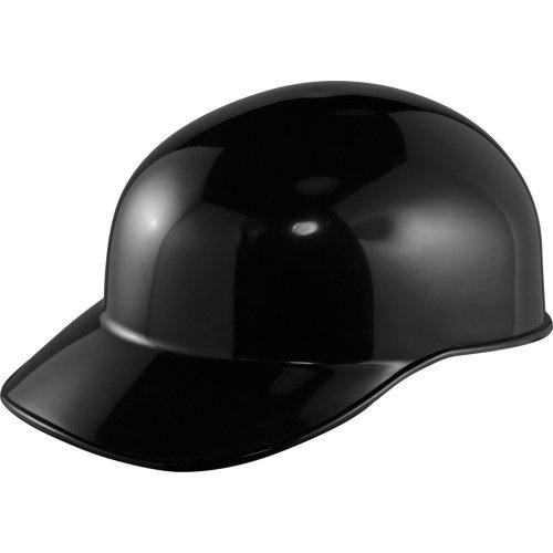 古い学校キャッチャーのスカルキャップbyウィルソンfor Adult B010E6S8S0 ADULT|ブラック ブラック ADULT